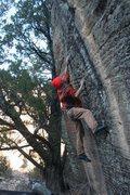 Rock Climbing Photo: R-Crimp, L-dyno to rail