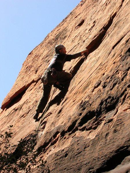 Rock Climbing Photo: Tim H. spring '06