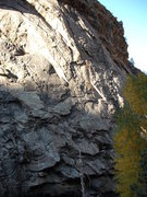 Rock Climbing Photo: Belay pod to anchor.