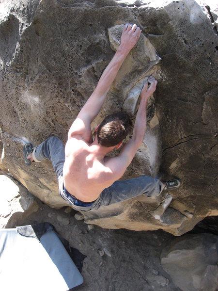 Rock Climbing Photo: yeah