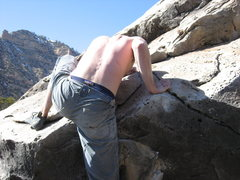 Rock Climbing Photo: mantel