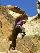 Rock Climbing Photo: FHA ascentionist of Umph Slot