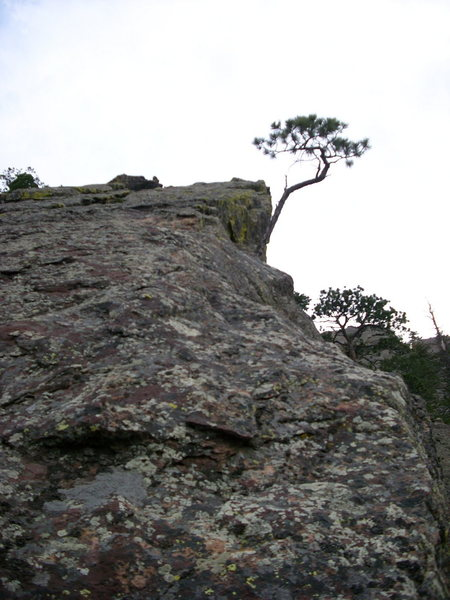 Northeast ridge of Hourglass.