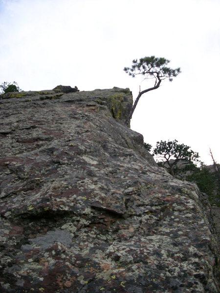 Rock Climbing Photo: Northeast ridge of Hourglass.