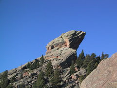 Rock Climbing Photo: Devil's Thumb from the Flying Flatiron ....