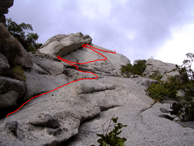 Rock Climbing Photo: Zigzag's line. Wonder how they came up with the na...