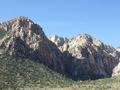 Rock Climbing Photo: Ice Box Canyon proper.