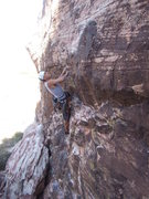Rock Climbing Photo: Justin Day getting started on Mac and Ronnie in Ch...