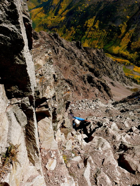 Rock Climbing Photo: Pyramid Peak