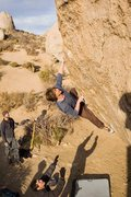 Rock Climbing Photo: Marc? on High Plains, spotted by Bill Ramesy