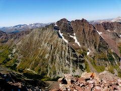 Rock Climbing Photo: Maroon Bells