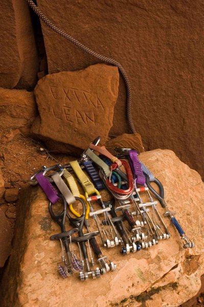 Rock Climbing Photo: The Rack