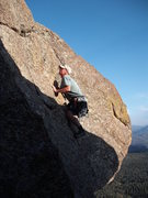 Rock Climbing Photo: A fun alternate to the key hole.  A nice flake jus...