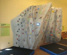 Rock Climbing Photo: Bouldering wall at the Erie Community Center.