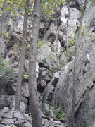 Rock Climbing Photo: alt start to Jr
