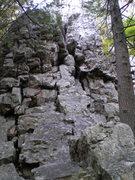 Rock Climbing Photo: start to Ecstasy