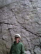 Rock Climbing Photo: start of route w/ handsome man