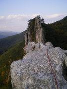 Rock Climbing Photo: lovely traverse