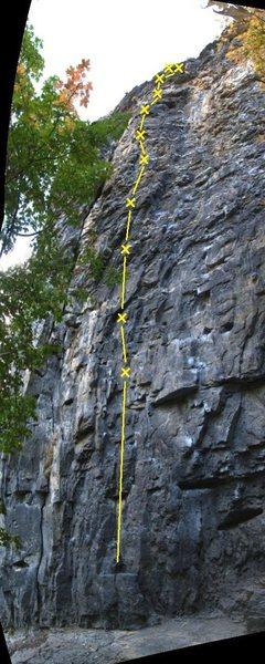 Rock Climbing Photo: Quicklime Girl 5.11a