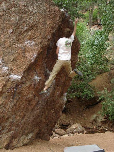 Rock Climbing Photo: graduation dyno