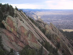 Rock Climbing Photo: Looking north from the summit of The Fist.  All nu...