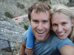Rock Climbing Photo: Climbing!!
