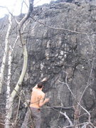 Rock Climbing Photo: Not the best picture of the wall, but this is basi...