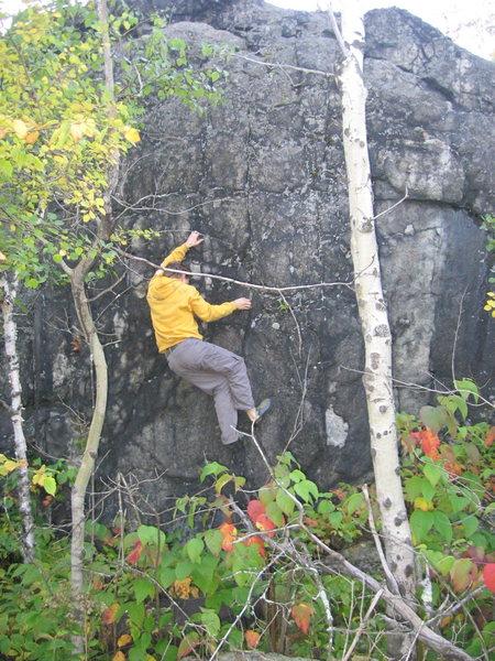 Rock Climbing Photo: Chris Harkness on Juguelous.