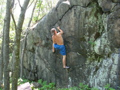Rock Climbing Photo: Harkness on XMen