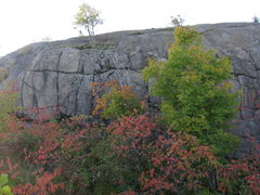 Rock Climbing Photo: A nice Fall view.