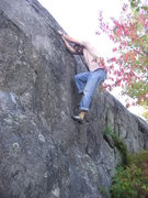 Rock Climbing Photo: Slab Happy.