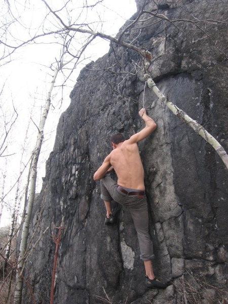 Rock Climbing Photo: Deulen on m.i.s.
