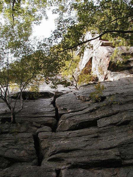 Rock Climbing Photo: First pitch of Betty
