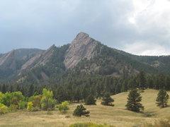Rock Climbing Photo: Flatiron majesty on a nice October day.