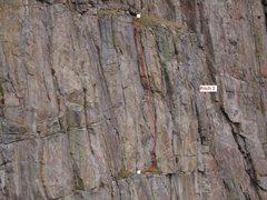 Rock Climbing Photo: Pitch 3. 5.8+.