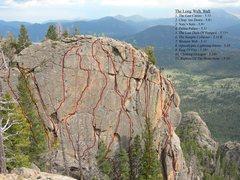 Rock Climbing Photo: The Long Walk Wall.
