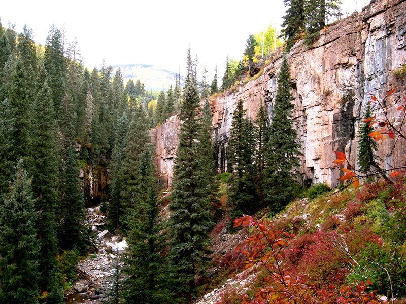 Cascade Canyon in the fall.