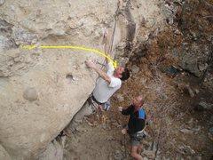 Rock Climbing Photo: Chris Cavallaro and Tom Hanson