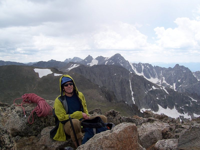 Rock Climbing Photo: Brendan