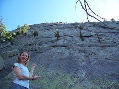 Rock Climbing Photo: Kateri
