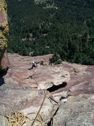 Rock Climbing Photo: Sweet, Sweet Patty Johnson