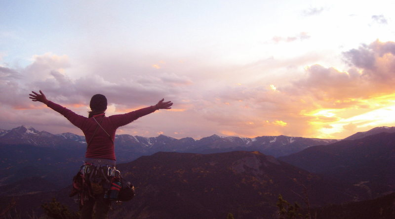 Top of Sundance after Kors Flake