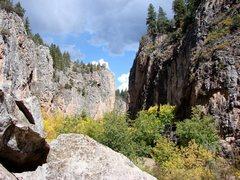 Rock Climbing Photo: Rifle Mountain Park.