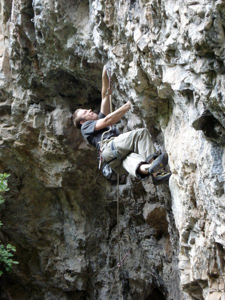 "Rock Climbing Photo: Sending ""Plastic Prince"", Rifle Mountain..."