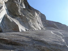 Rock Climbing Photo: Crux pitch -- S Buttress Right