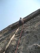 Rock Climbing Photo: a little higher