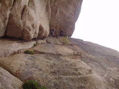 "Rock Climbing Photo: C. ""Danger"" Johnson loving those fist ja..."