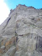 Rock Climbing Photo: Two unknown climbers, Spearhead, North Ridge
