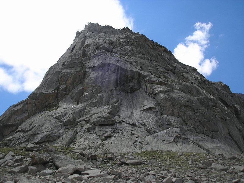 Spearhead North Ridge w/ 2 unknown climbers