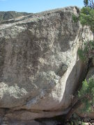 Rock Climbing Photo: Running Man